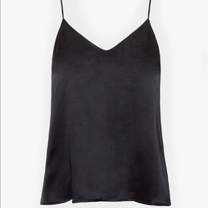 Anine Bing Gwyneth silk satin camisole tank top